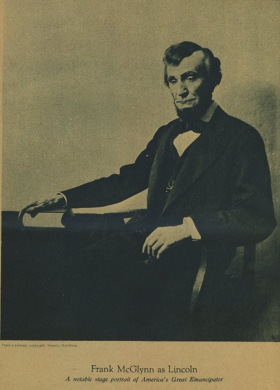 Frank McGlynn Sr as Abraham Lincoln