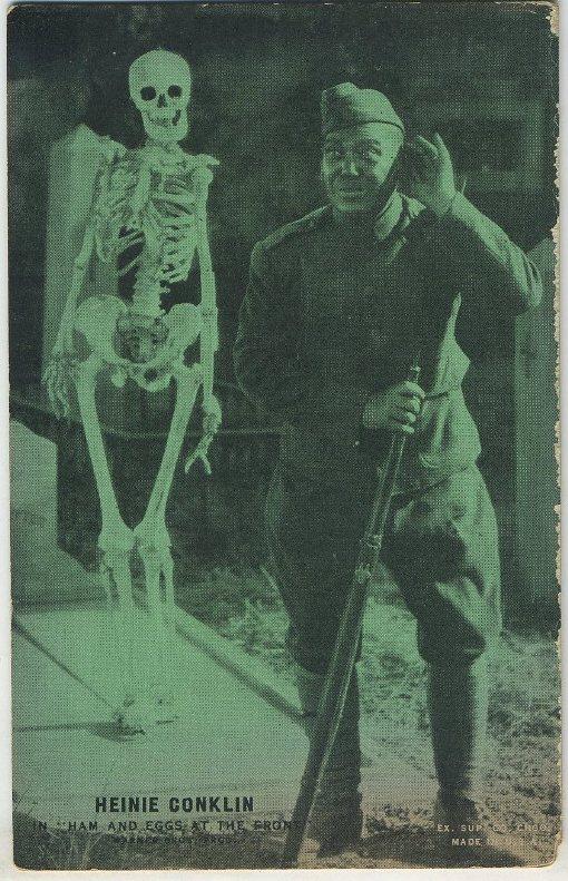Heinie Conklin 1920s Exhibit Card
