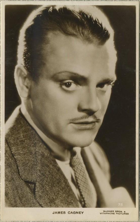 James Cagney 1930s Picturegoer Postcard