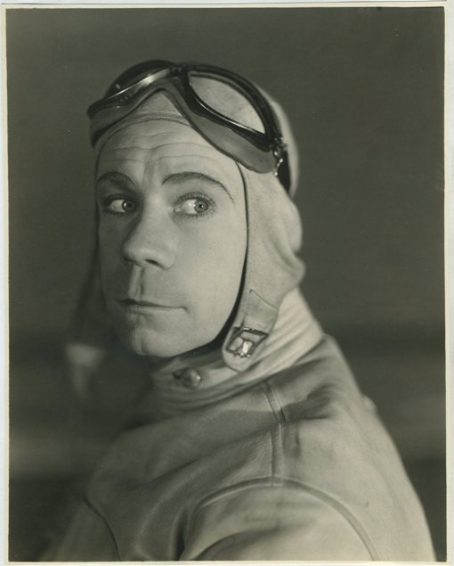 Joe E Brown portrait by Bert Longworth