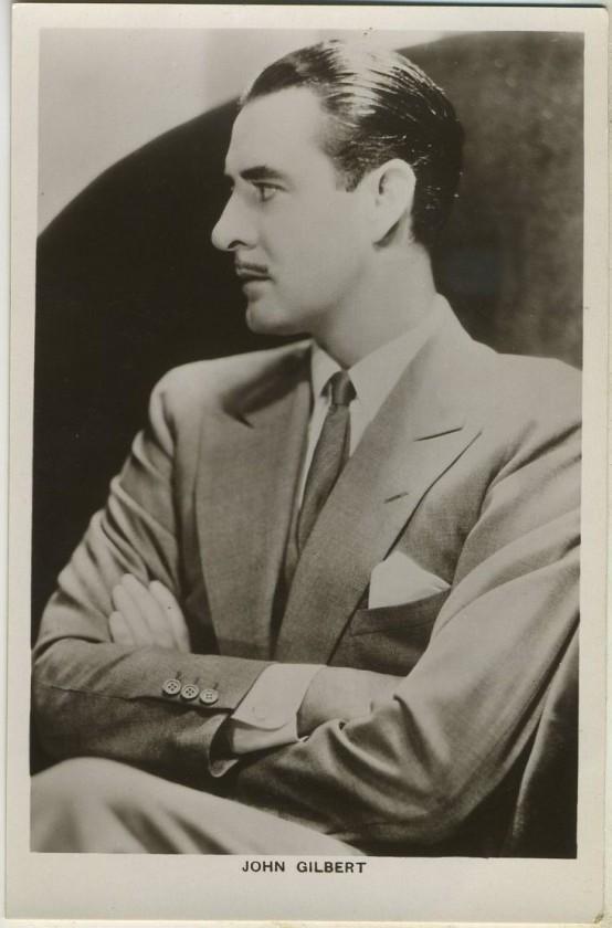 John Gilbert 1930s Picturegoer Postcard
