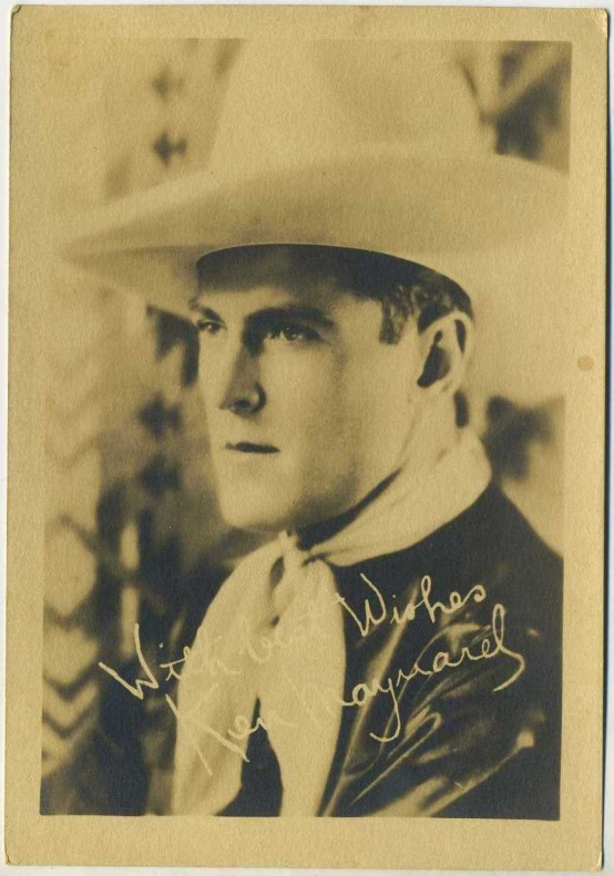 Ken Maynard 1920s Fan Photo