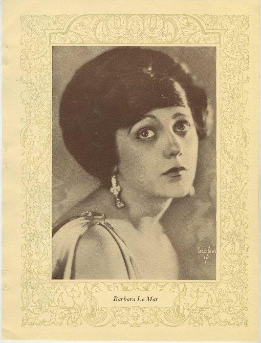 Barbara La Marr 1923 MPDA Photo