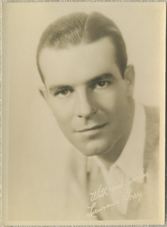 Lawrence Gray 1920s Fan Photo