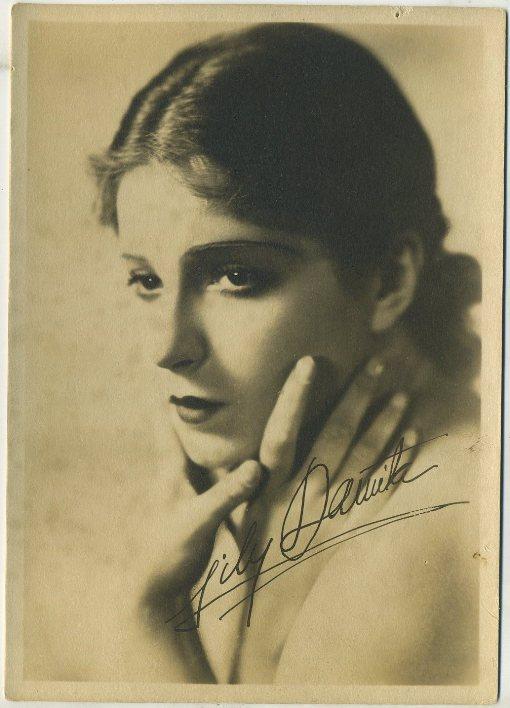 Lili Damita 1930s Fan Photo