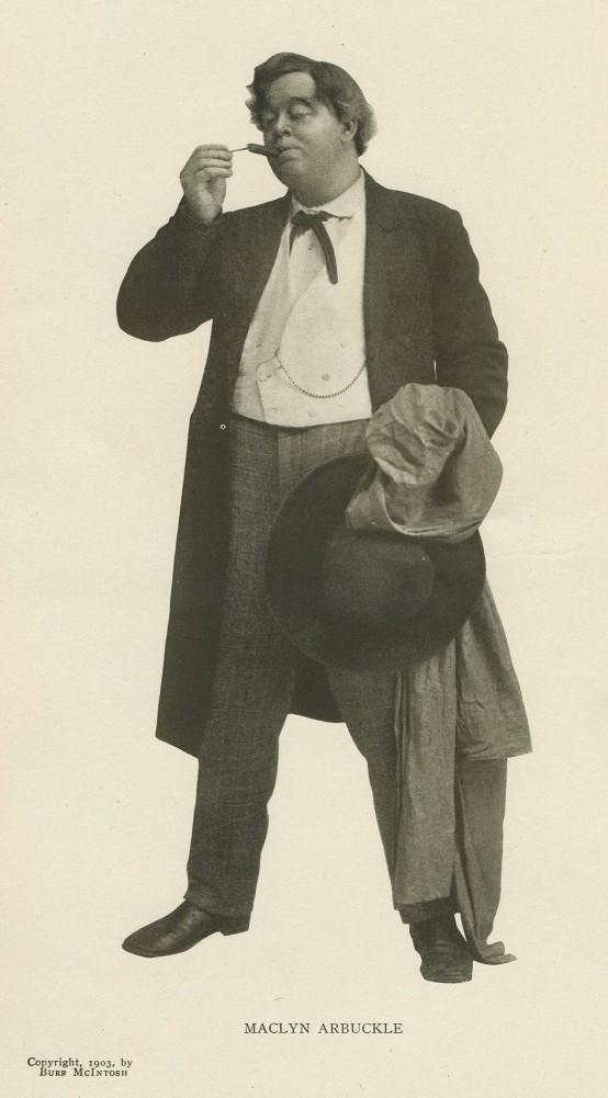 Maclyn Arbukcle 1904 Burr McIntosh Monthly photo