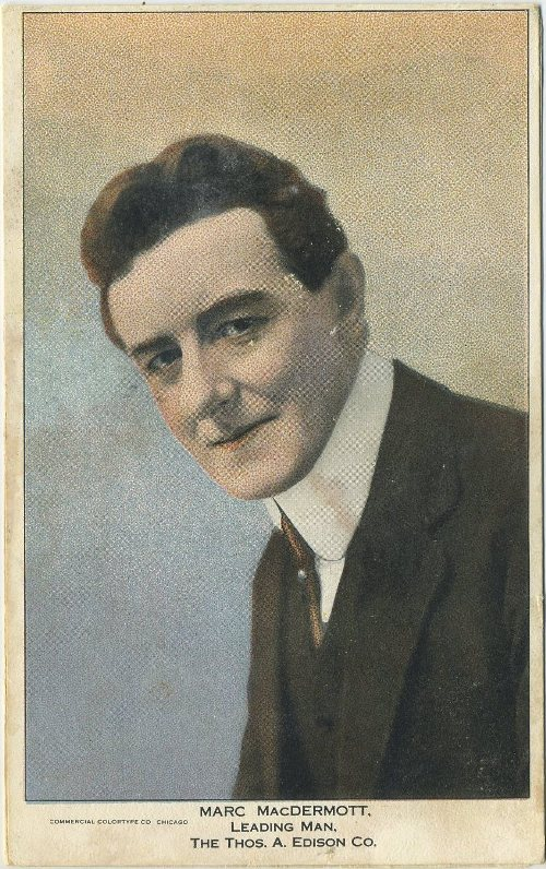 Marc McDermott 1910s Postcard