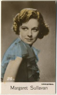 Margaret Sullavan 1935 Bridgewater Trading Card