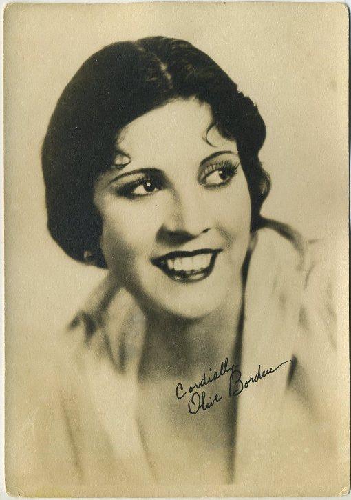Olive Borden 1920s Fan Photo
