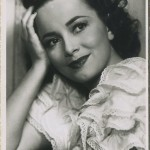Olivia de Havilland Picturegoer Postcard