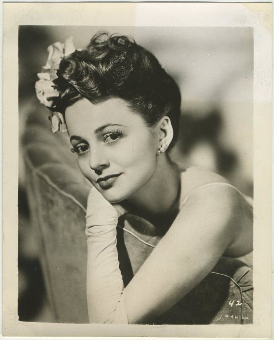 Olivia de Havilland 1940s Promotional Photo