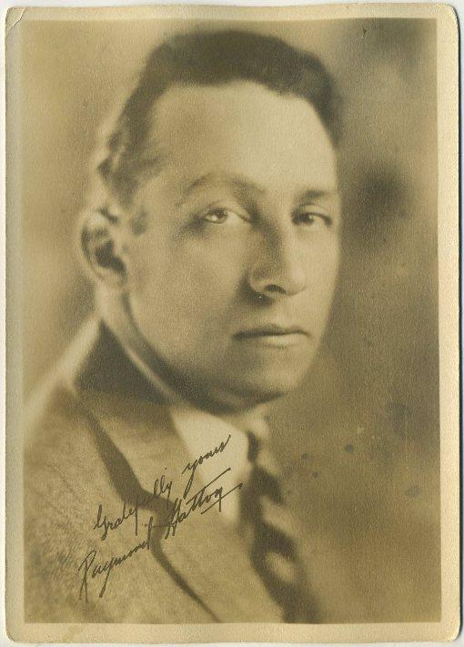 Raymond Hatton 1920s Fan Photo