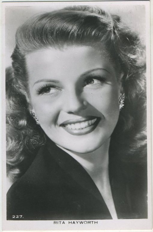 Rita Hayworth Picturegoer Postcard