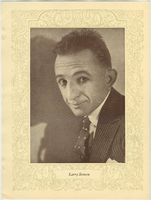 Larry Semon 1923 Popular Film Folk