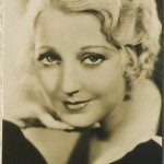 Thelma Todd Film Weekly Postcard