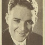 William Gargan 1930s Aguila Chocolates Trading Card