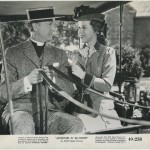 Robert Young and Shirley Temple in Adventure in Baltimore