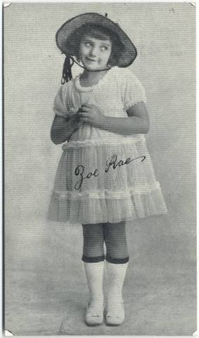 Zoe Rae Kromo Gravure 3x5 Card