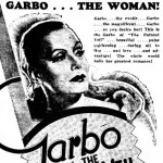 Clippings: Greta Garbo Picto-Sked