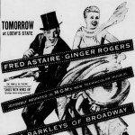 Fred Astaire & Ginger Rogers – 10 Movies, 10 Newspaper Ads
