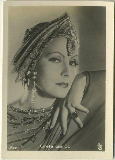 Greta Garbo 1930s A Batschari