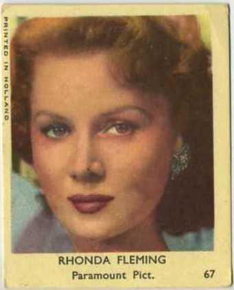 Rhonda Fleming 1954 Klene