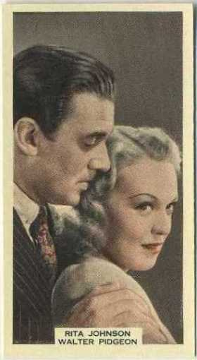 Walter Pidgeon and Rita Johnson