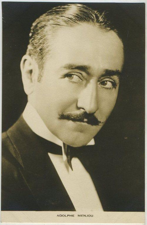 Adolphe Menjou Film Weekly Postcard