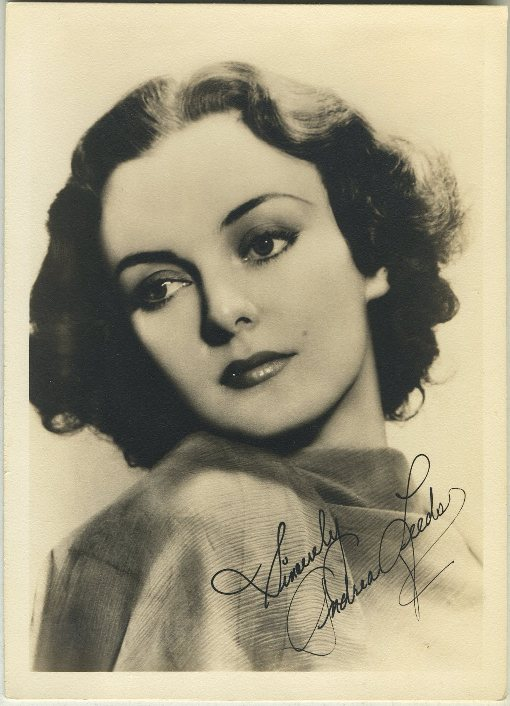 Andrea Leeds 1930s Fan Photo