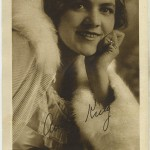 Anita King 1916 Water Color Premium Photo