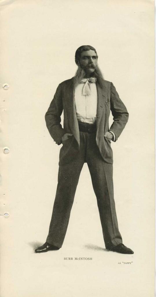 Burr McIntosh as Taffy 1905 photo