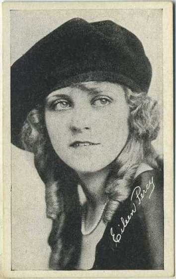 Eileen Percy 1916 Kromo Gravure Trading Card