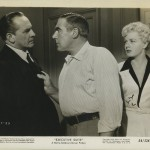 Fredric March Paul Douglas and Shelley Winters