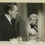 Fredric March and Shelley Winters in Executive Suite