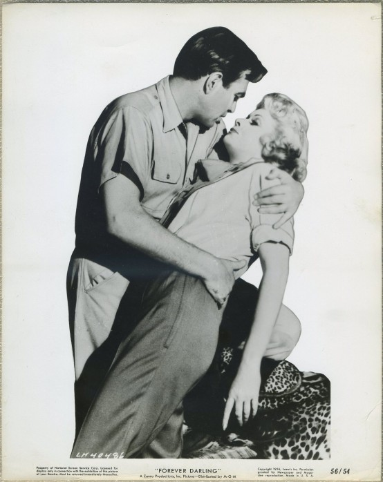 James Mason and Lucille Ball in Forever Darling