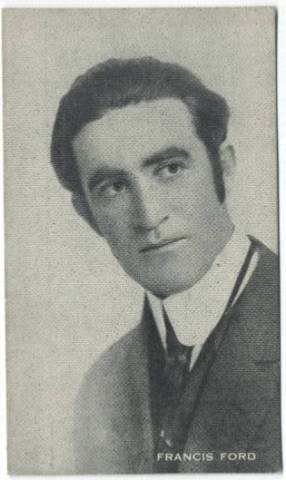 Francis Ford 1910s trading card
