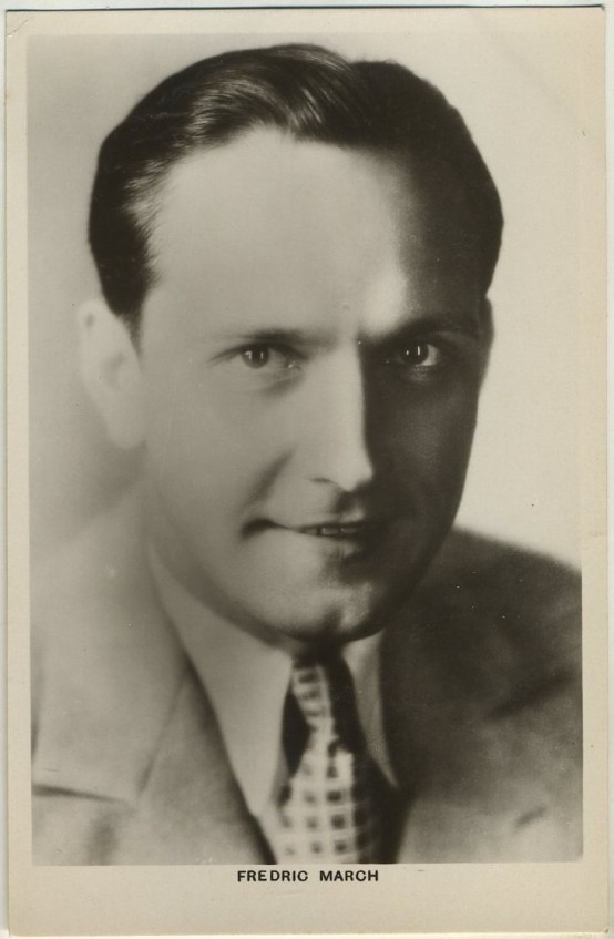 Fredric March 1930s Picturegoer Postcard