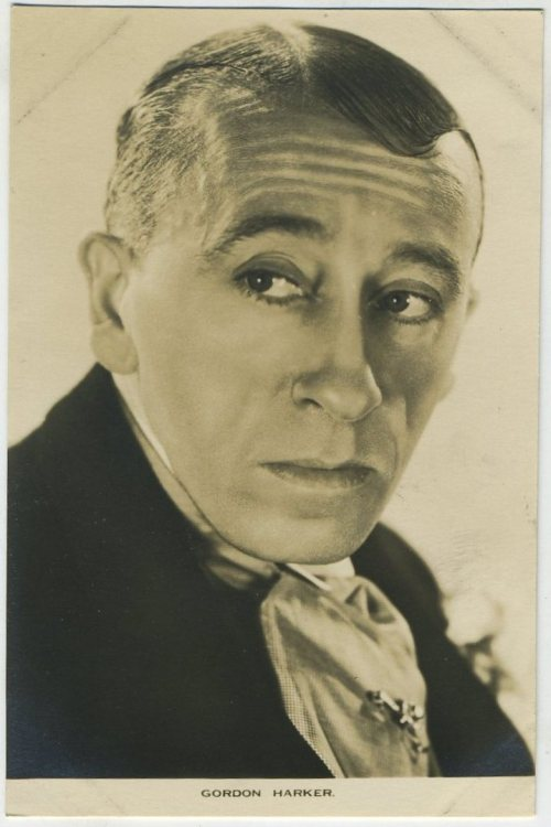 Gordon Harker Film Weekly Postcard