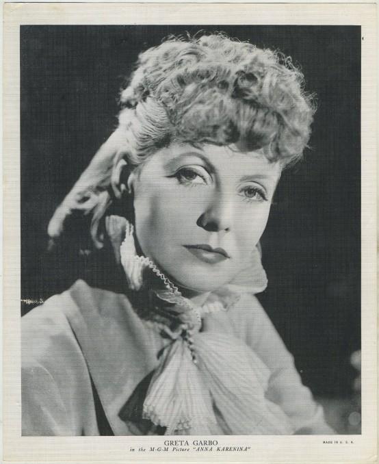Greta Garbo 1935 EMO Movie Club