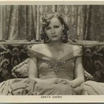 Greta Garbo Picturegoer Postcard