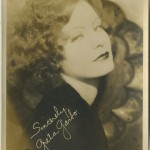 Greta Garbo 1920s Fan Photo