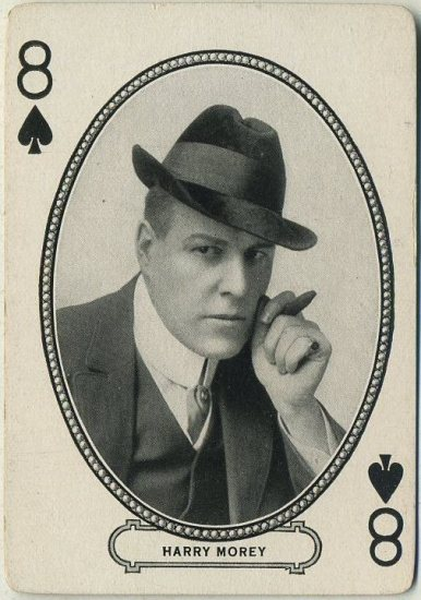 Harry Morey 1916 MJ Moriarty Playing Card