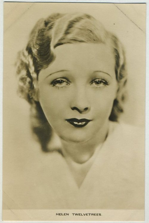 Helen Twelvetrees Film Weekly Postcard