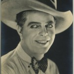 Hoot Gibson Film Weekly Postcard