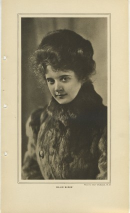 Billie Burke March 1908 Burr McIntosh Print
