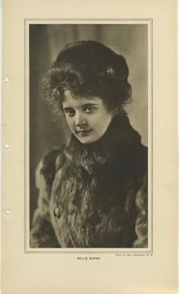 Billie Burke March 1908 Burr McIntosh Print