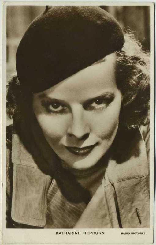 Katharine Hepburn Picturegoer Postcard