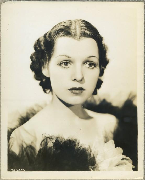 Lorraine Bridges 1935 MGM Promotional Portrait