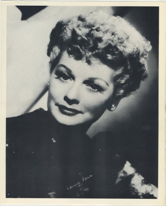 Lucille Ball 1954 Star Pictures Premium Photo