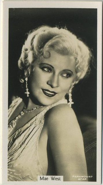 Mae West 1934 John Sinclair Film Stars